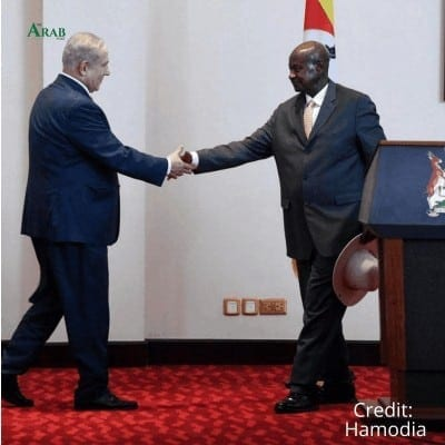 Israeli Prime Minister Benjamin Netanyahu said in a tweet he discussed the normalization of relations during the meeting with senior Sudanese politicians in Uganda.