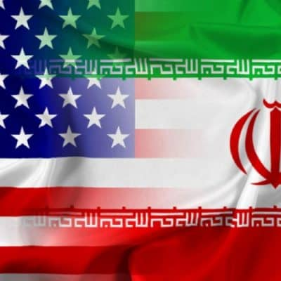 Flag of Iran and United States