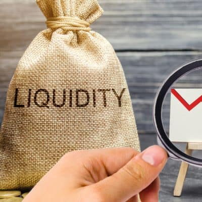 Falling liquidity and profitability of stocks and investments.
