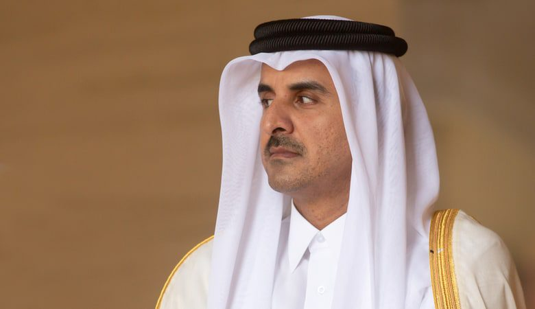 Emir of the State of Qatar Sheikh Tamim bin Hamad Al Thani